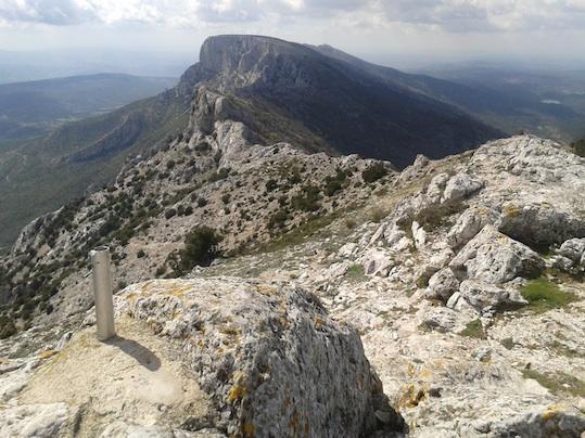 Sommet de la Montagne Ste Victoire
