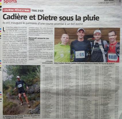 Article de presse