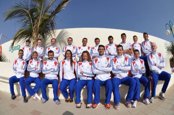 équipe de France à Lanzarote