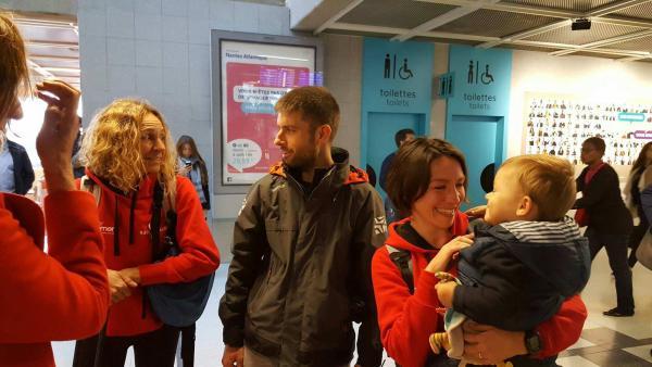 Arrivée aéroport de Nantes