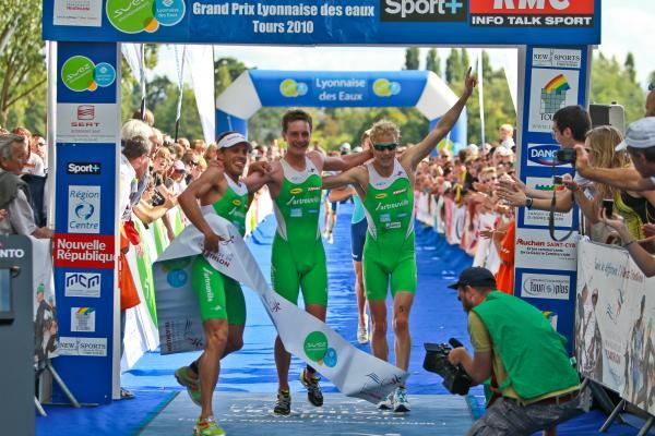 Arrivée Tours 2010
