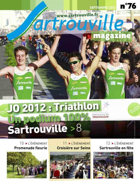 Sartrouville Mag - Septembre 2012