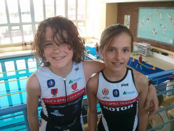 Noa et Maxine, nos 2 jeunes champions!!!