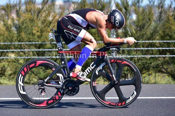 Vélo à l'ironman Melbourne 2015