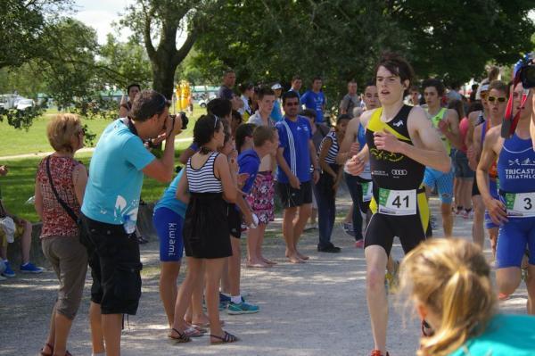 Arnaud au France de tri 2012