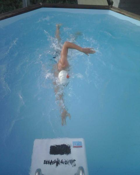 Swimform pour la rentr e un bassin de nage de 4mx2m for Piscine bassin de nage