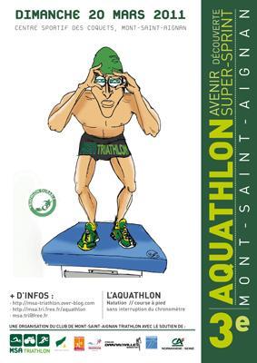 thomas leboucher triathlete 20 mars 2011 aquathlon. Black Bedroom Furniture Sets. Home Design Ideas