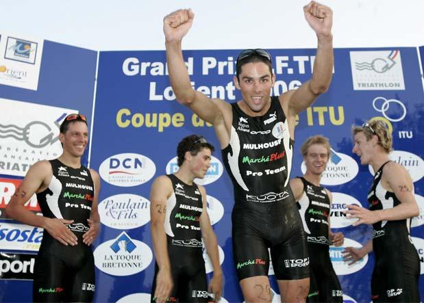 podium Lorient