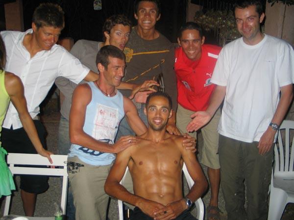 Barbecue à roque brune 2005