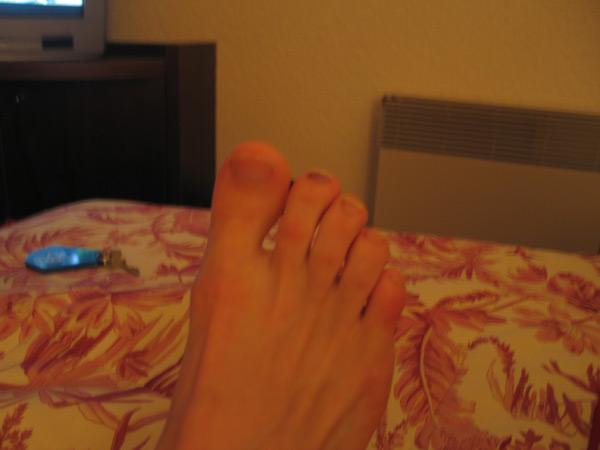 Le gros doigt de pied !