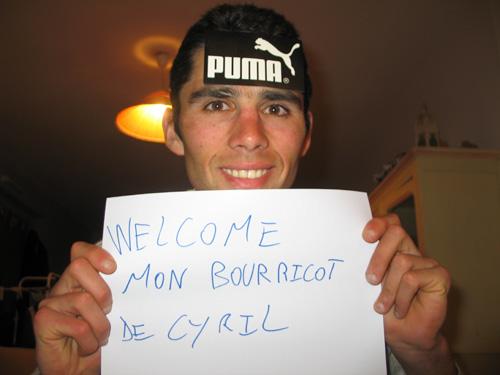 Bonjour à Cyril