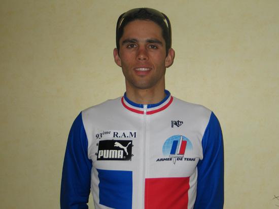 Champion de France de duathlon militaire 2004