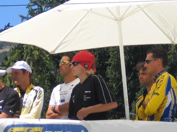 Vassiliev, Loy, Déanaz et Loisel sur le podium du C-D d'Embrun !