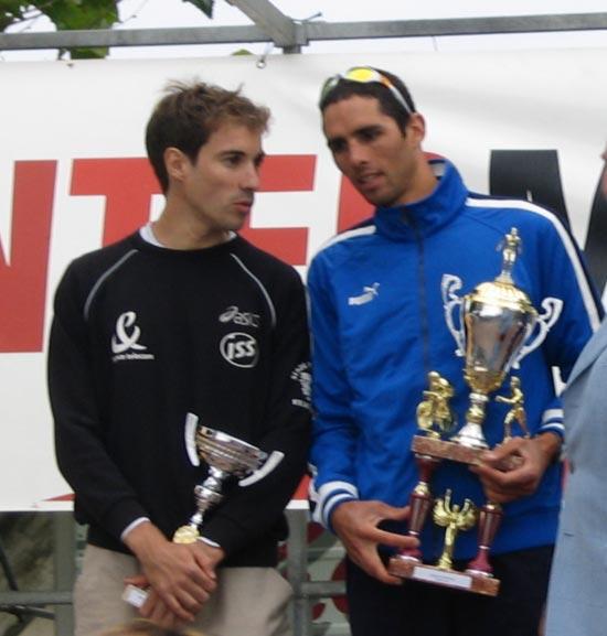 Fred pierrat, podium de l'ile de ré 2004