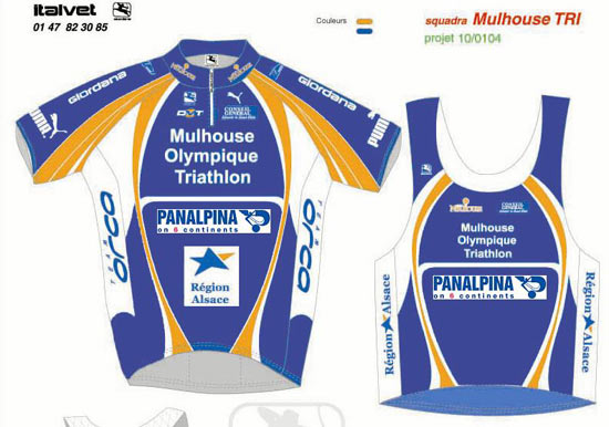 Tenue duathlon 2004