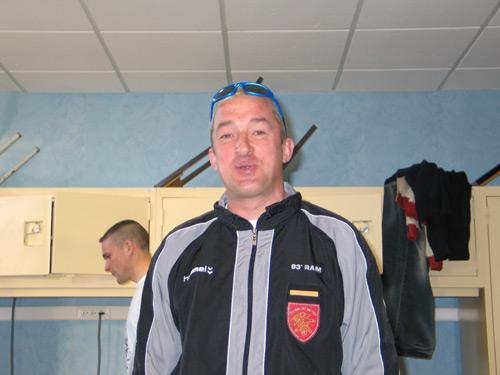 Thierry Francke Chef de section sport de haut-niveau