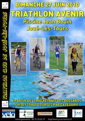 Affiche du Triathlon Avenir de JLT