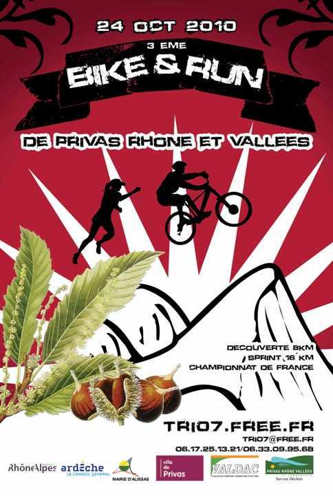 affiche du France de Run and Bike 2010