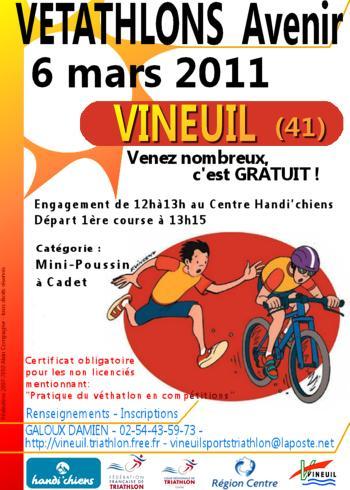 Vétathlon avenir de Vineuil 2011