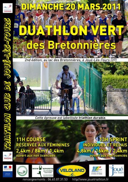 Duathlon Vert du TCJ 2011