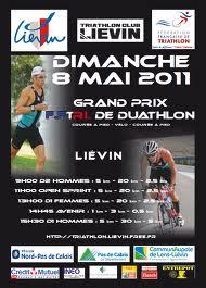 plaquette course duathlon Lievin 2011