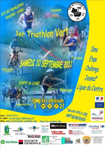 1er Triathlon Vert