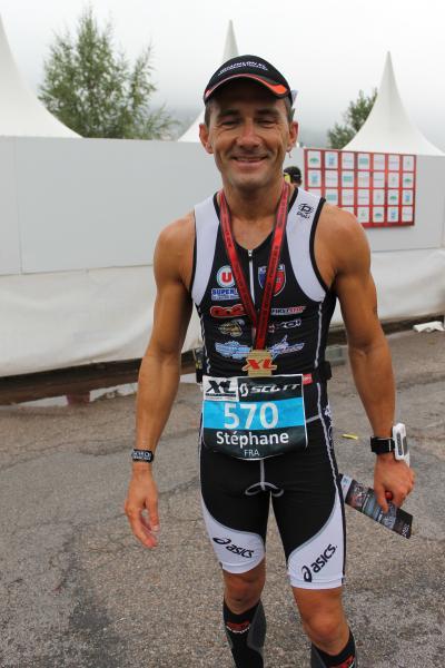Steph au Triathlon XL 2012