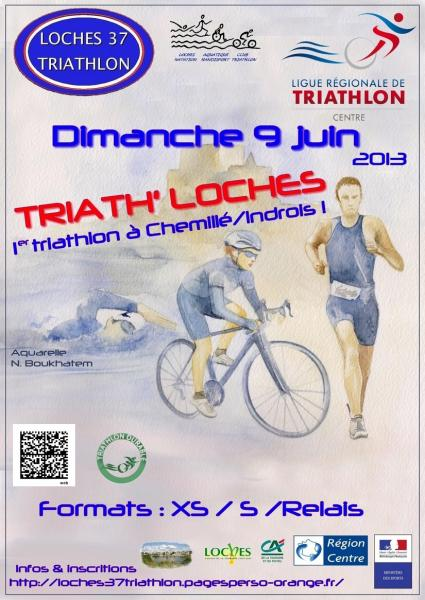 Triathlon de Loches