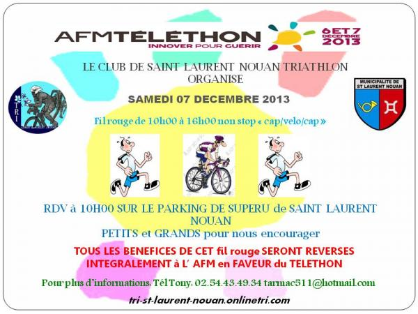 Club au Telethon 2013