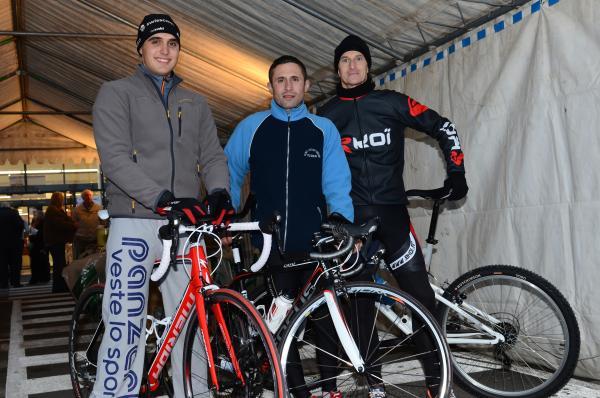 Téléthon Club ( Baptiste, Tony, Fred)