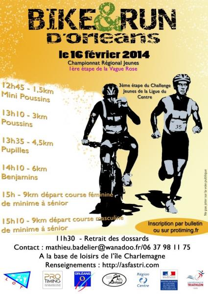 Bike and Run de l'ASFAS