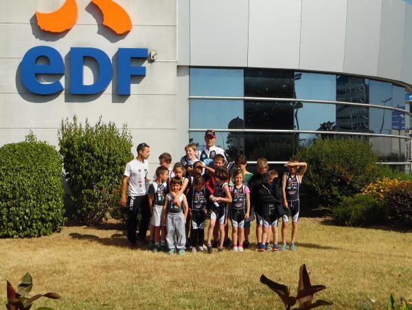Signature de la convention avec EDF ( Ecole de Tri*)