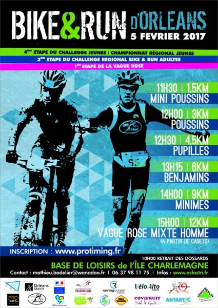 Bike and Run d'Orléans