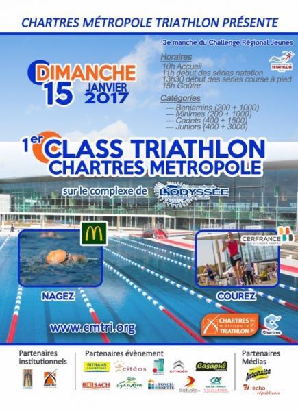 Class Triathlon  au CMTRI 2017