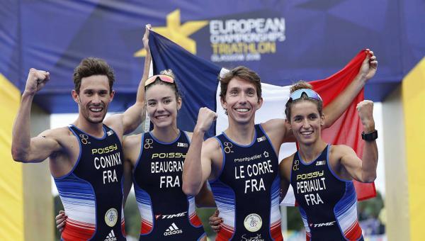 Triathlon champion d'Europe 2018
