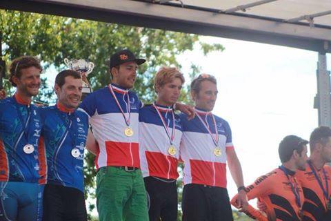 Le Dijon Singletrack, champion de France par équipe