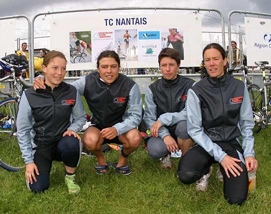 Les filles au GP de Dunkerque 2005