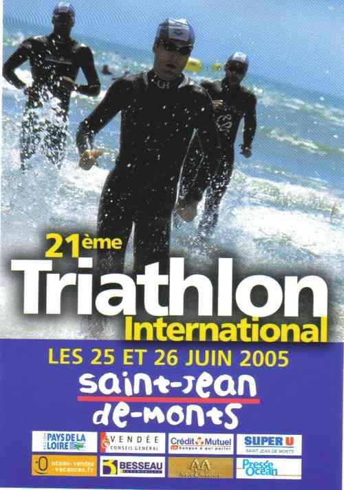 Affiche St Jean de monts 2005