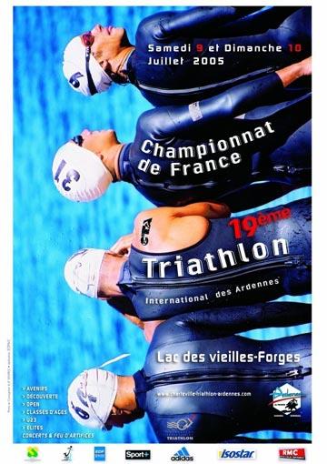 Affiche Chpt de France CD 2005