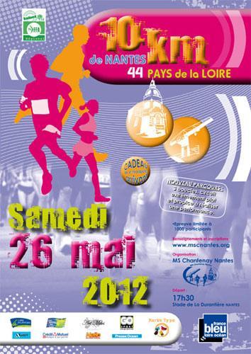 10km Nantes 2012