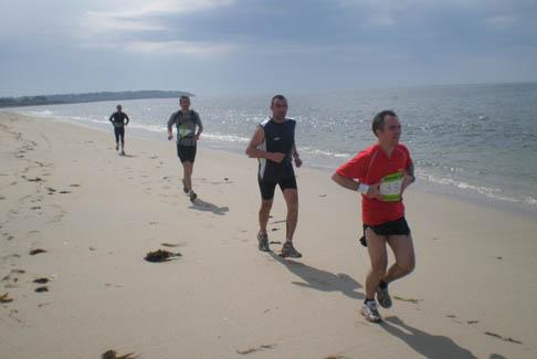 Le Trail du Bord de Mer à Arzon dans le 56 sous le soleil !!