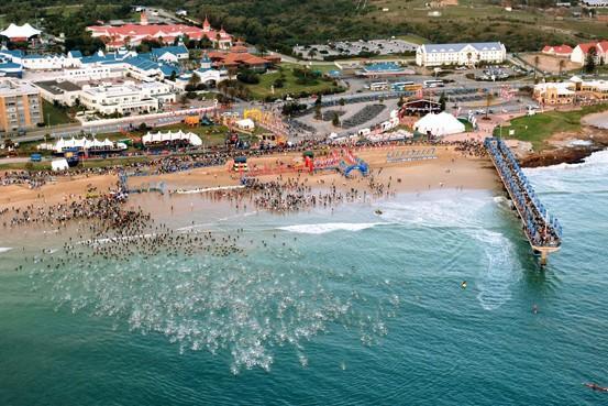 Départ de l'IM South Africa à Port Elizabeth