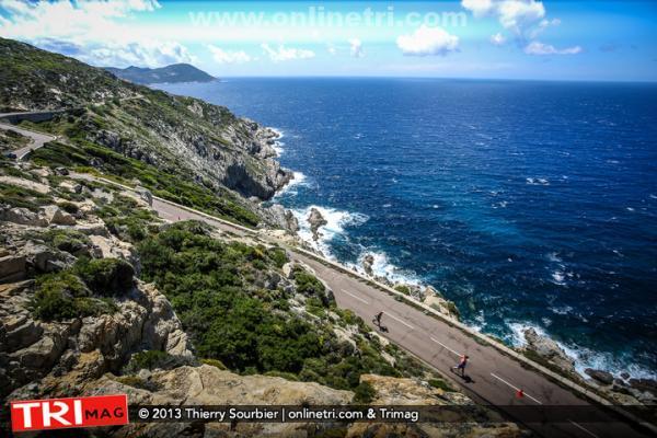 Calvi et la Corse, lieu magnifique pour la pratique du triathlon !!
