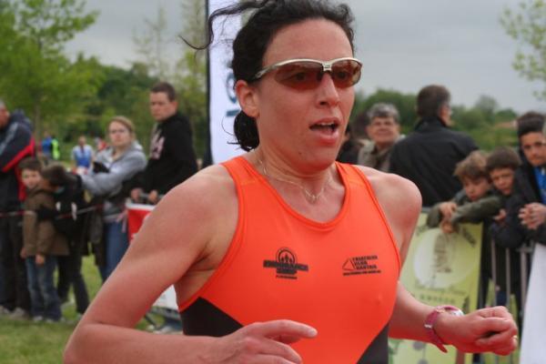 Aurélie Tharreau, 3ème pour son 2nd triathlon !!!!