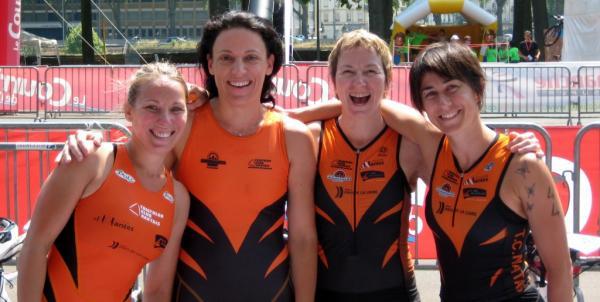 Elodie, Aurélie, Nancy et Sandie
