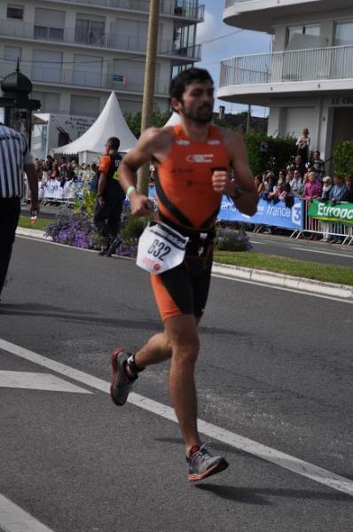 Antoine MARTIN dans le top 100 du 70.3 d'Aix