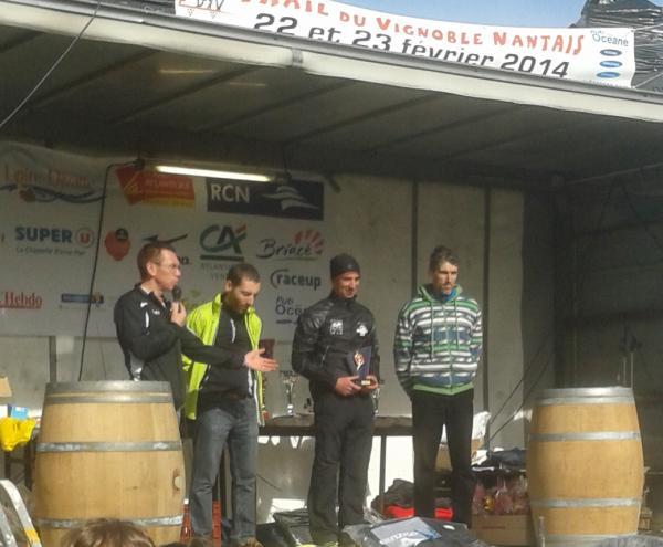 David GOUPILLE sur le podium du Défi des Vins !