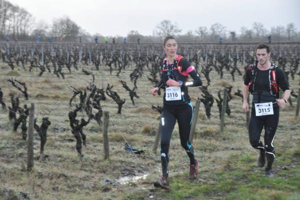 Cécile et Sylvain sur le 57km