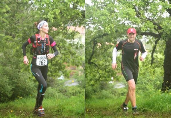 Cécile et Damine sur le 27km