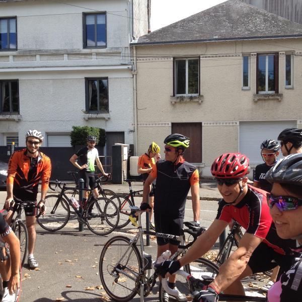 Les entrainements vélo du samedi après-midi